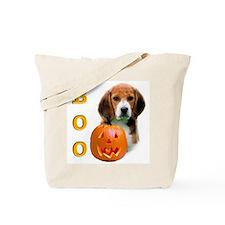 Halloween Beagle Boo Tote Bag
