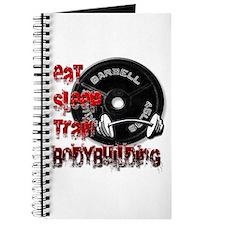 Eat sleep play bodybuilding Journal