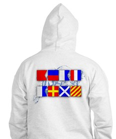 Beat Army Signal Flags Hoodie