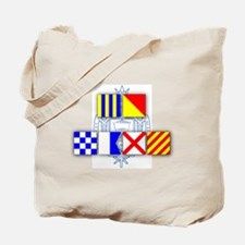 Beat Army Signal Flags Tote Bag