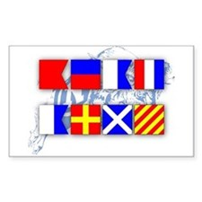 BEAT ARMY Signal Flags Decal
