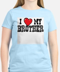 I Love My Brother Women's Shirt