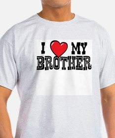 I Love My Brother Mens T-Shirt