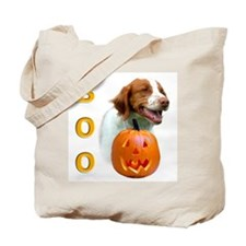 Halloween Brittany Boo Tote Bag