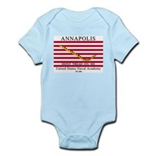 USNA Dont Tread on Me Infant Bodysuit