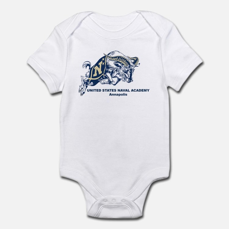 USNA Ram Infant Bodysuit