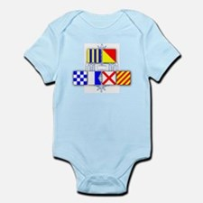 Go Navy Infant Bodysuit