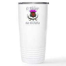 Flower of Scotland Gael Travel Mug