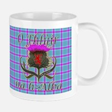 Flower of Scotland Gaelic Thistle Mug