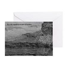 Sartre Quote Greeting Card