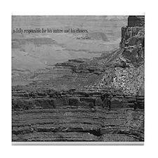 Sartre Quote Tile Coaster