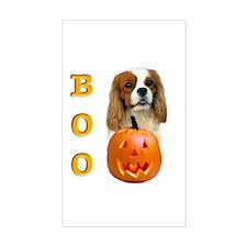 Halloween Cavalier Boo Rectangle Decal