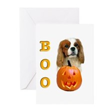Halloween Cavalier Boo Greeting Cards (Package of