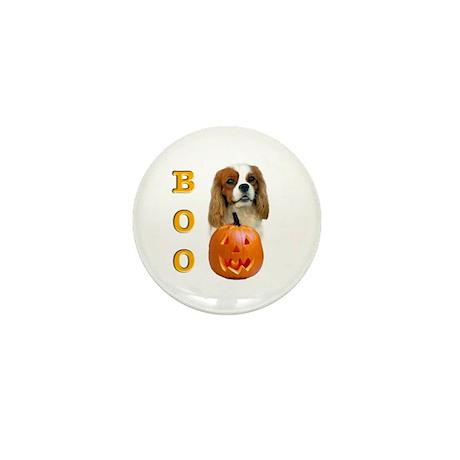 Halloween Cavalier Boo Mini Button