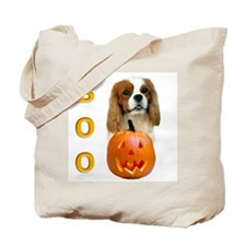 Halloween Cavalier Boo Tote Bag