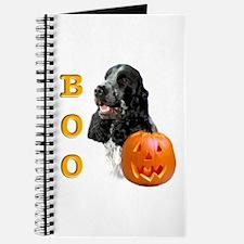 Halloween Cocker Boo Journal