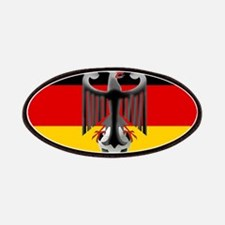 German Soccer Flag Patches