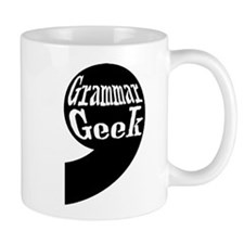 Grammar Geek Comma Mug