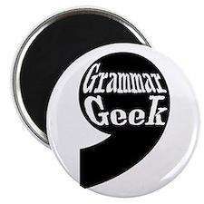 Grammar Geek Comma Magnet
