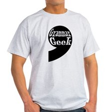 Grammar Geek Comma T-Shirt