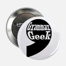 """Grammar Geek Comma 2.25"""" Button"""