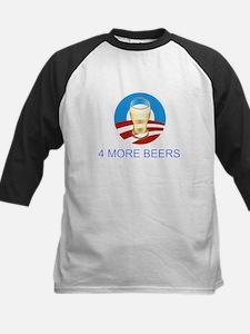 4 more beers Obama 2012 Kids Baseball Jersey