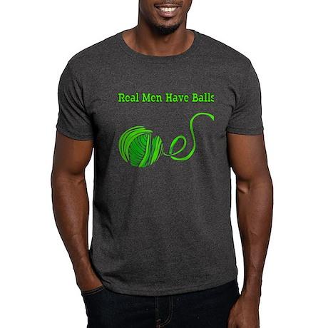 Real Men Have Balls Tee, Dark Colors