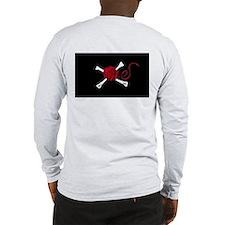 Yarn Ball and Crossbones Long Sleeve T-Shirt