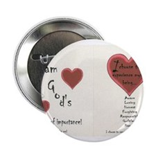 "Woman of Importance 2.25"" Button"