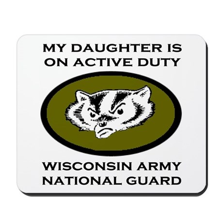 Mousepad: Daughter On Active Duty