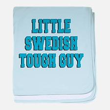 Little Swedish Tough Guy baby blanket