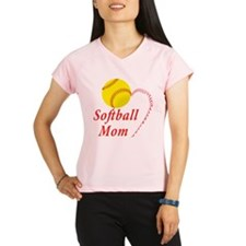 Softball mom Performance Dry T-Shirt