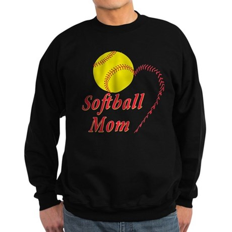 Softball mom Sweatshirt (dark)