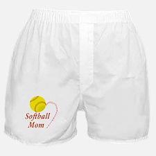 Softball mom Boxer Shorts