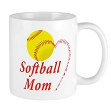Softball mom Mug