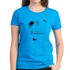 Flying Dreams dark ladies t-shirt