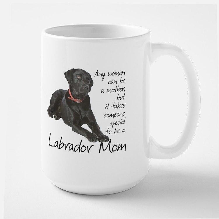 Black Lab Mom Mug