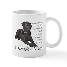 Black Lab Mom Small Mugs