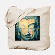 Tiled Buddha Tote Bag