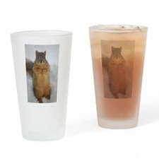 Squirrel Love Pint Glass