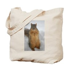 Squirrel Love Tote Bag