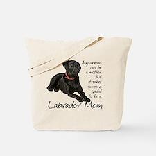 Black Lab Purse Tote Bag