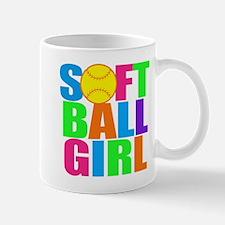 Girls softball Mug