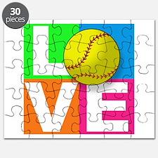 Girls softball Puzzle