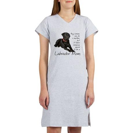 Black Lab Women's Nightshirt