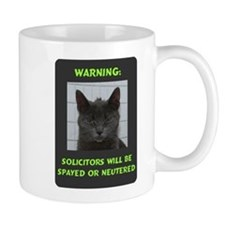 No Solicitations Mug