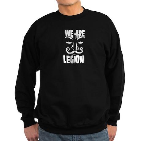 WE ARE LEGION - Anonymous Sweatshirt (dark)