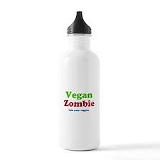 Vegan Zombie Sports Water Bottle