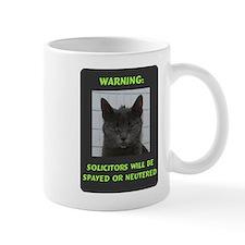 No Solicitations Mug