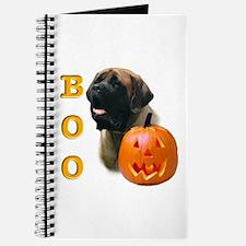 Halloween Apricot Mastiff Boo Journal